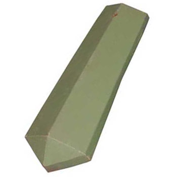 Roof Tile Hip Starter Matte Green
