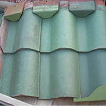 Ludowici Green Spanish Tiles