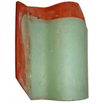 Salvaged Roof Tile Imperial Spanish Dull Green