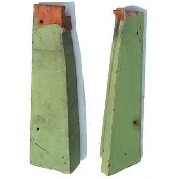 Salvaged Roof Tile Gable Rakes Closed Shingle